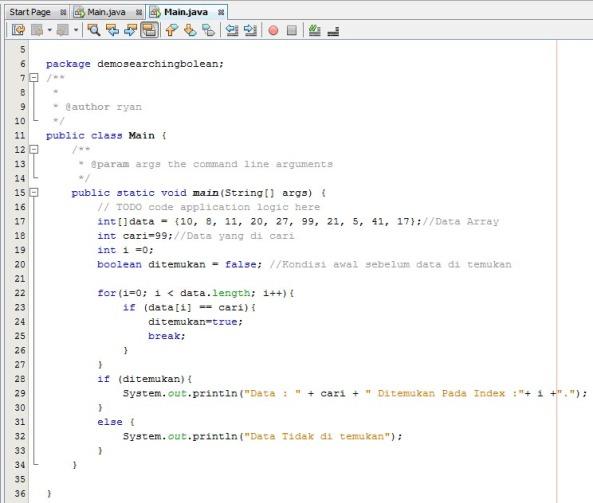 Contoh Algoritma Sequential Search Dengan Java Nextryan S Blog